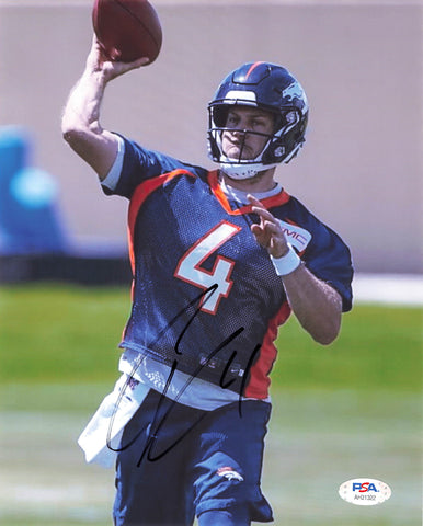 Case Keenum signed 8x10 Photo PSA/DNA Denver Broncos Autographed
