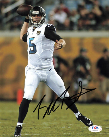 Blake Bortles signed 8x10 photo PSA/DNA Jacksonville Jaguars Autographed