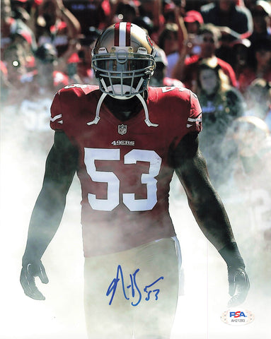 Navorro Bowman signed 8x10 photo PSA/DNA San Francisco 49ers Autographed