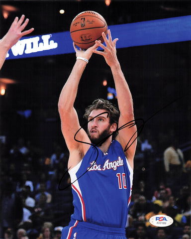 Spencer Hawes signed 8x10 photo PSA/DNA Los Angeles Clippers Autographed