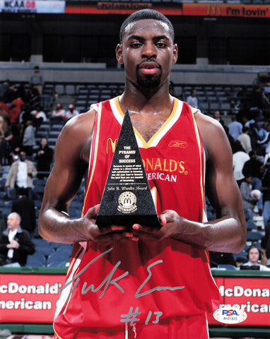 Tyreke Evans signed 8x10 photo PSA/DNA Sacramento Kings Autographed