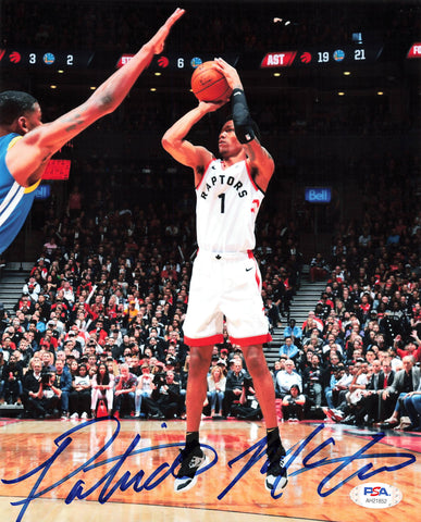 Patrick McCaw signed 8x10 photo PSA/DNA Toronto Raptors Autographed
