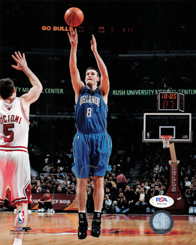 Pat Garrity signed 8x10 photo PSA/DNA Orlando Magic Autographed