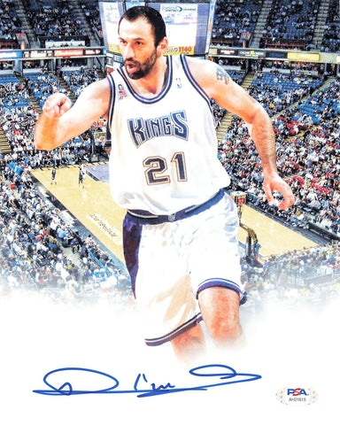 Vlade Divac signed 8x10 photo PSA/DNA Sacramento Kings Autographed