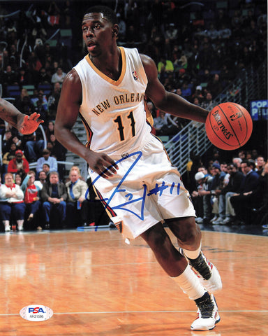 Jrue Holiday signed 8x10 photo PSA/DNA Philadelphia 76ers Autographed Pelicans