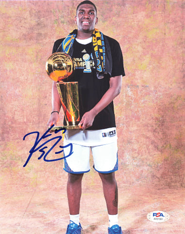Kevon Looney signed 8x10 photo PSA/DNA Golden State Warriors Autographed