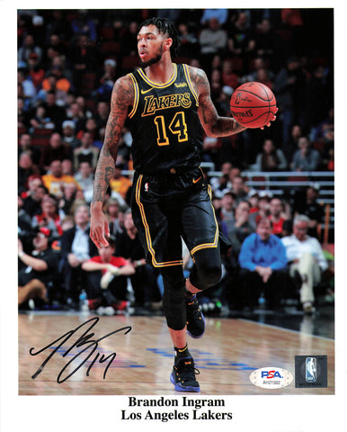 Brandon Ingram signed 8x10  photo PSA/DNA  Los Angeles Lakers Autographed