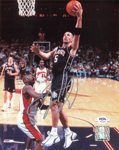 Jason Kidd signed 8x10 photo PSA/DNA New Jersey Nets Autographed Lakers