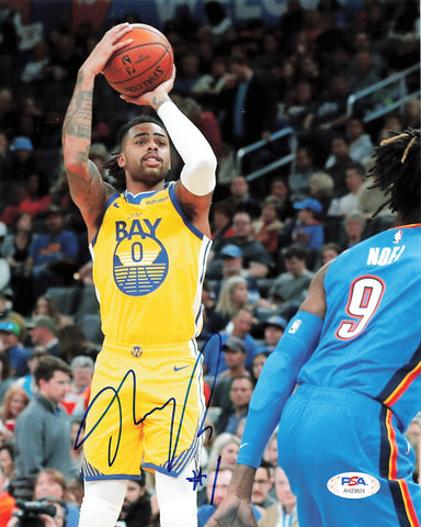 D'Angelo Russell signed 8x10 Photo PSA/DNA Golden State Warriors Autographed