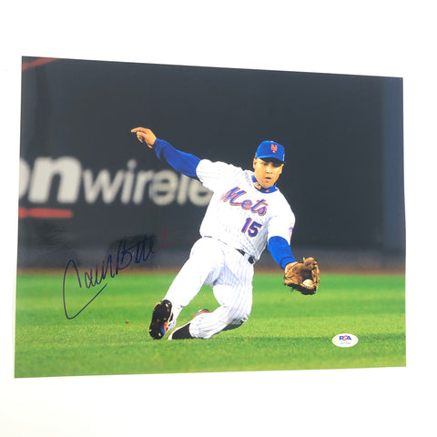 Carlos Beltran signed 11x14 photo PSA/DNA New York Mets Autographed