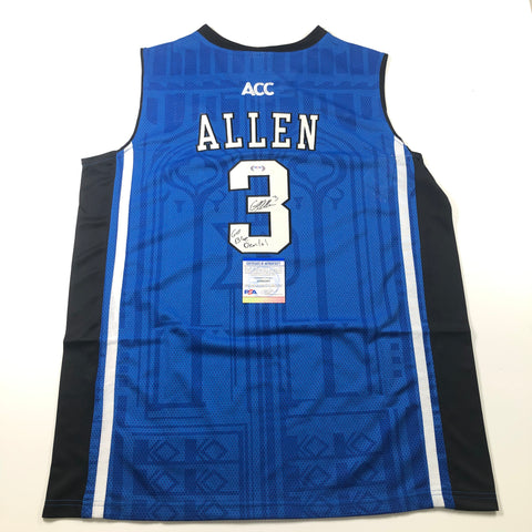 Grayson Allen signed jersey PSA/DNA Autographed Duke Inscription