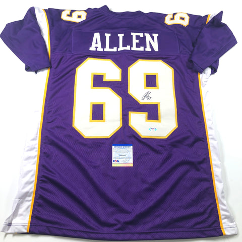 Jared Allen Signed Jersey PSA/DNA Minnesota Vikings autographed