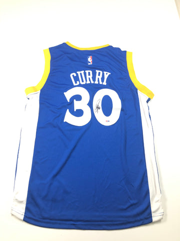 Stephen Curry signed jersey PSA/DNA Warriors Autographed Steph MVP