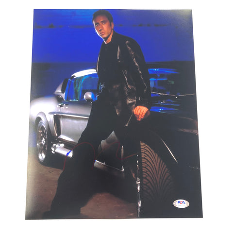 Nicolas Cage signed 11x14 photo PSA/DNA Autographed
