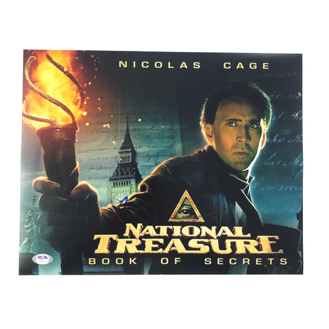 Nicolas Cage signed 11x14 photo PSA/DNA Autographed National Treasure