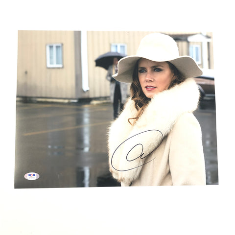 Amy Adams signed 11x14 photo PSA/DNA Autographed