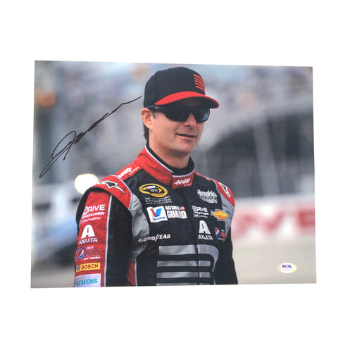 Jeff Gordon Signed 11x14 Photo PSA/DNA Autographed Nascar