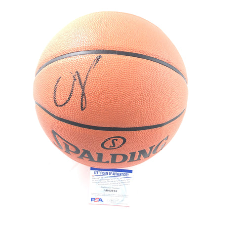 Chris Paul signed Basketball PSA/DNA Oklahoma City Thunder Autographed