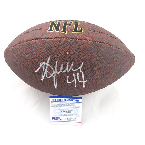 Kyle Juszczyk Signed Football PSA/DNA San Francisco 49ers autographed