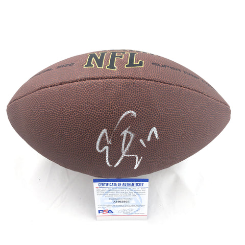 Emmanuel Sanders signed Football PSA/DNA San Francisco 49ers autographed