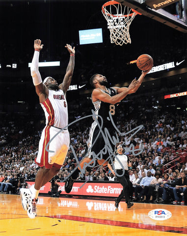 Patty Mills signed 8x10 photo PSA/DNA San Antonio Spurs Autographed