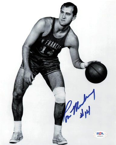 Tom Meschery signed 8x10 photo PSA/DNA San Francisco Warriors Autographed