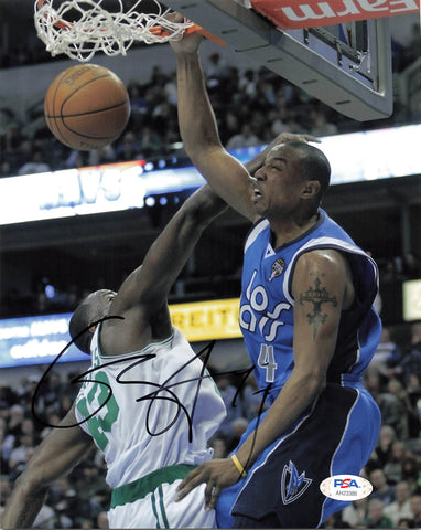 Caron Butler signed 8x10 photo PSA/DNA Dallas Mavericks Autographed