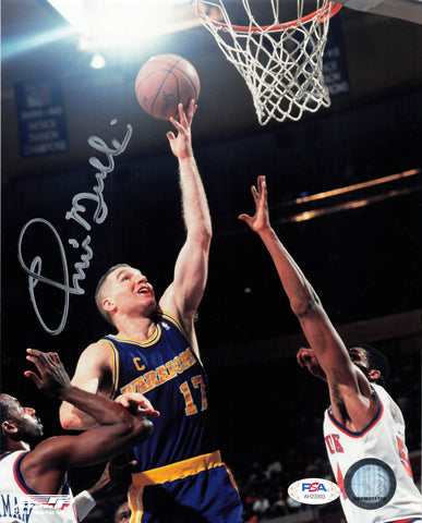 Chris Mullin signed 8x10 photo PSA/DNA Golden State Warriors Autographed HOF
