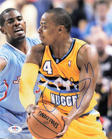 Randy Foye signed 8x10 photo PSA/DNA Denver Nuggets Autographed