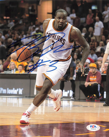 Kendrick Perkins Signed 8x10 photo PSA/DNA Cleveland Cavaliers Autographed