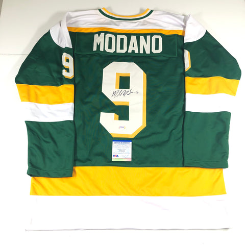 Mike Modano Signed Jersey photo PSA/DNA Dallas Stars Autographed