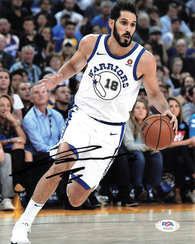 Omri Casspi signed 8x10 photo PSA/DNA Warriors Autographed