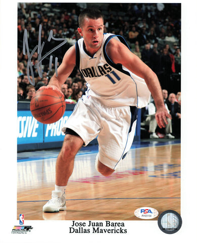 JJ Barea signed 8x10 photo PSA/DNA Dallas Mavericks Autographed