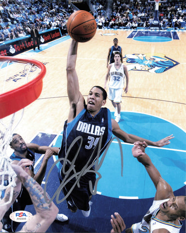 Devin Harris signed 8x10 photo PSA/DNA Dallas Mavericks Autographed
