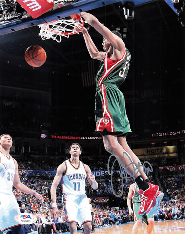 John Henson signed 8x10 photo PSA/DNA Milwaukee Bucks Autographed