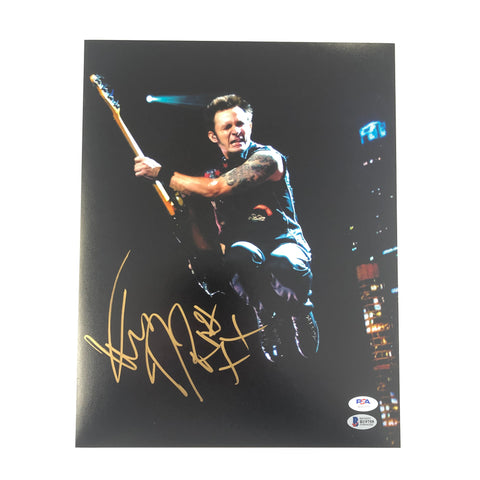 Mike Dirnt signed 11x14 photo PSA/DNA Autographed