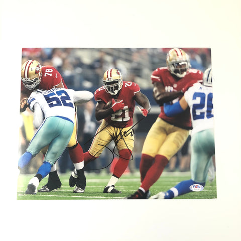 Frank Gore signed 11x14 photo PSA/DNA San Francisco 49ers Autographed