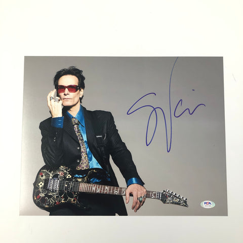 Steve Vai signed 11x14 photo PSA/DNA Autographed