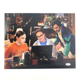 Kunal Nayyar signed 11x14 photo PSA/DNA Autographed Big Bang Theory