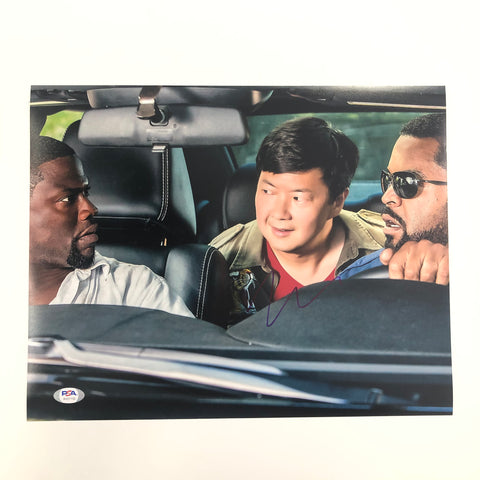 Ken Jeong signed 11x14 photo PSA/DNA Autographed Ice Cube Kevin Hart