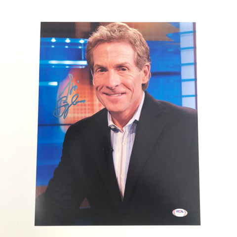 Skip Bayless signed 11x14 photo PSA/DNA Autographed RARE