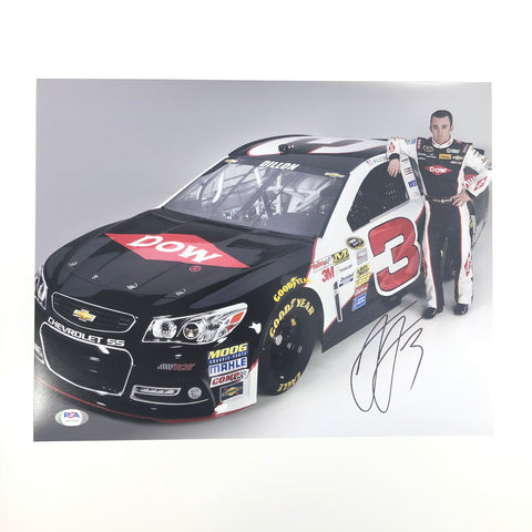Austin Dillon signed 11x14 photo PSA/DNA Autographed Nascar