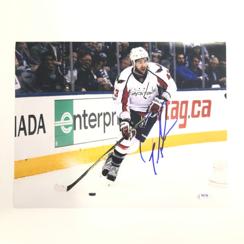 Tom Wilson signed 11x14 photo PSA/DNA Washington Capitals Autographed