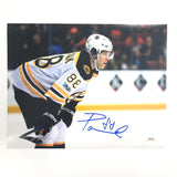 David Pastrnak signed 11x14 photo PSA/DNA Boston Bruins Autographed