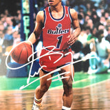 Muggsy Bogues signed 11x14 photo PSA/DNA Washington Bullets Autographed