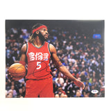 DeMarre Carroll signed 11x14 photo PSA/DNA Toronto Raptors Spurs Autographed