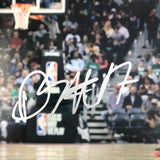 Dennis Schroder signed 11x14 photo PSA/DNA Atlanta Hawks Autographed