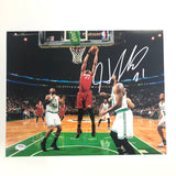 Hassan Whiteside signed 11x14 photo PSA/DNA Miami Heat Autographed Blazers