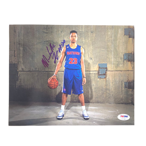 Markelle Fultz signed 8x10 photo PSA/DNA Washington 76ers Orlando Magic Autographed Sixers