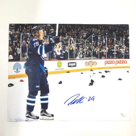 Patrick Laine signed 11x14 photo JSA COA Winnipeg Jets Autographed